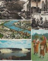 N 39  Lot 100 CPSM  Différentes Etrangères - Cartes Postales