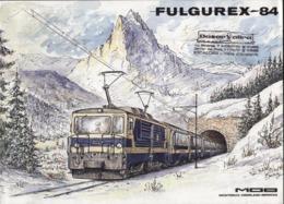 Catalogue FULGUREX 1984 Spur N HOm HO O    MOB - En Allemand Et En Français - Books And Magazines