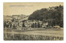 CPA 38 VILLENEUVE-DE-MARC VUE GENERALE - Frankrijk