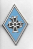 Pin's  Militaire ? Fond  Bleu - Militaria