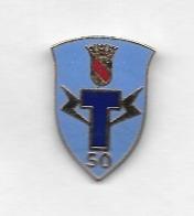 Pin's  Militaire ? Fond  Bleu T 50 - Militaria
