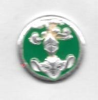 Pin's  Militaire ?  Fond  Vert - Militaria