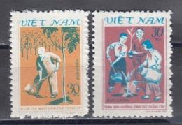 Vietnam 1981 - Reforestation, Mi-Nr. 1187/88, MNH** - Vietnam