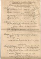 1919 NOTE DE SERVICE / 3EME REGIMENT DE TIRAILLEURS MALGACHES   B1093 - Documents