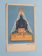 Vierge Marie - Protégez Notre FOYER / Souvenir De La Mission Oct 1950 Paroisse De JAMBES ( Zie Foto's ) ! - Religion & Esotérisme