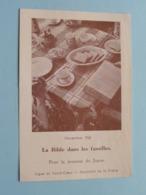 Nov 1960 > Pour La Jeunesse Du JAPON -La Bible Dans Les Familles / Prière / Gebed ( Zie Foto's ) ! - Religion & Esotérisme