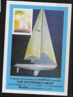 1988 SAINT VINCENT Grenadines Michel BF 31** Régate, Bateau, Non Dentelé - St.Vincent Y Las Granadinas