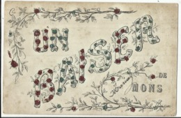 Mons - Un Baiser De Mons... 1906 - Mons