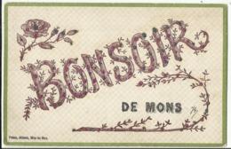 Mons - Un Bonsoir De Mons... 1908 - Mons