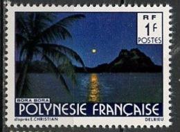 Polynésie Française - Polynesien - Polynesia 1979 Y&T N°132 - Michel N°278 *** - 1f Bora Bora - Polynésie Française