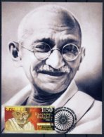 Mahatma Gandhi - 150 Years Since His Birth -  Bulgaria / Bulgarie 2019 - Maximum Card - MC - Mahatma Gandhi