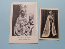 Notre Dame De TONGRES - Cause De Notre Joie ( Prière ) 2 Pcs. ( Zie Foto's ) ! - Religion & Esotérisme