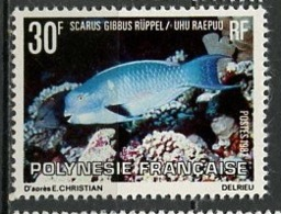 Polynésie Française - Polynesien - Polynesia 1982 Y&T N°174 - Michel N°339 *** - 30f Scarus Gibbus - Polynésie Française
