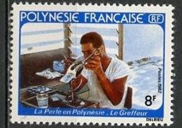 Polynésie Française - Polynesien - Polynesia 1982 Y&T N°178 - Michel N°343 *** - 8f Greffeur De Perles - Polynésie Française