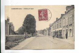 36 - SAINT-GAULTIER ( Indre ) - Faubourg De Lignac - Autres Communes