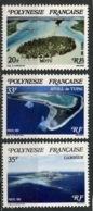 Polynésie Française - Polynesien - Polynesia 1982 Y&T N°186 à 188 - Michel N°359 à 361 *** - Iles De Polynésie - Polynésie Française