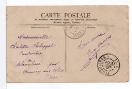 CPA - CACHET : FEUQUIÈRES (OISE) Sur CPA Paysage - Poststempel (Briefe)