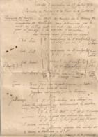 1920 Note DEROULEMENT PARADE D'EXECUTION / DEGRADATION / 3EME REGIMENT DE TIRAILLEURS MALGACHES   B1092 - Documents