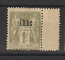 Chine 1894 Timbre 14 Neuf * Charn. - Neufs