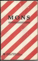 Mons - Carnet Contenant 10 Cartes-vues Détachables - Mons