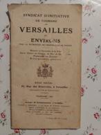 Syndicat D'initiative De Tourisme De Versailles Et Environs Touring Club De France 1911 1er Tirage - Books, Magazines, Comics