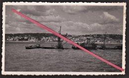 76 LE HAVRE -- Photo Originale _ Navire En Naufrage Devant Le Havre & Ste Adresse _ Guerre _ Bateau _ Ship _Militaire - Oorlog, Militair