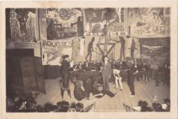 PHOTO FORMAT 15 X 10 ECOLE POLYTECHNIQUE DE PARIS  ELEVES DE 1929  SPECTACLE DES COTES   GEANT CHAMBERT BRUNET - Photographs
