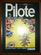Pilote Le Journal Qui S'amuse à Réfléchir N°639 - Pilote