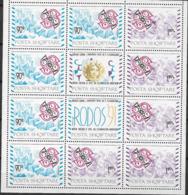 1992 Albanien Mi. 2495-6 **MNH Aufnahme Albaniens In Die Europäische Konferenz Der Verwaltungen Für Post- Und Fernmeldew - Europäischer Gedanke