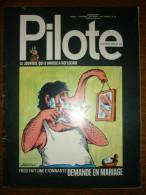 Pilote Le Journal Qui S'amuse à Réfléchir N°635 - Pilote