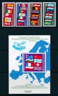 BULGARIEN Mi.Nr. 3138-3141 Block 129   EUROPA -KSZE- 1982-  MNH - Europa-CEPT