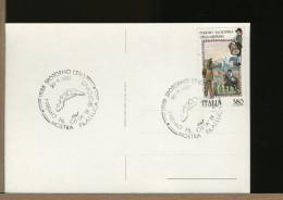 ITALIA - SPOTORNO - CARTA GEOGRAFICA REGIONE LIGURIA - Aardrijkskunde