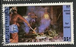 Polynésie Française - Polynesien - Polynesia 1985 Y&T N°242 - Michel N°(?) (o) - 35f Four Tahitien - Oblitérés