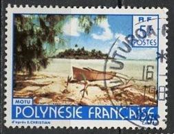 Polynésie Française - Polynesien - Polynesia 1986 Y&T N°254 - Michel N°(?) (o) - 5f Motu - Oblitérés