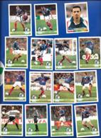14 A.C.FOOT Equipe De France '98 PANINI+ 1 Danone Foot Stars - Stickers