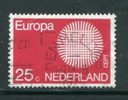 PAYS-BAS- Y&T N°914- Oblitéré (Europa) - Europa-CEPT