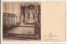 MONS - Eglise Sainte Elisabeth - Vue Du Choeur 1950 - Mons