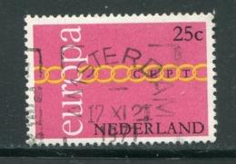 PAYS-BAS- Y&T N°932- Oblitéré (Europa) - 1971
