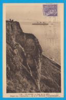 CPA-76-Le Havre -Cap De La Hève - Départ Du Paquebot NORMANDIE* Cie Gale Transatlantique 2 SCANS *** - Paquebote