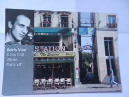PARIS BORIS VIAN 6 BIS CITE VERON - Arrondissement: 18