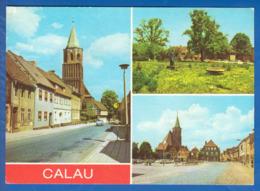 Deutschland; Calau; Multibildkarte - Calau