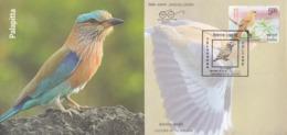 India  2018  Birds  Indian Roller Bird  Hyderabad  Special Cover  # 23363 D  D Inde  Indien - Songbirds & Tree Dwellers