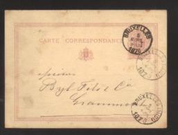 7687- Belgium , Belgique , Belgie Post Card Carte Postale Postkaart , Postal Stationery - Stamped Stationery
