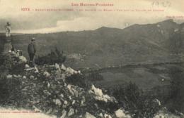 Les Hautes Pyrénées BAGNERES De BIGORRE Au Sommet Du Bedat Vue Sur La Vallée De Campan Labouche  RV - Bagneres De Bigorre