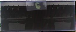 BISTRITA, Transylvania : Fête En Gare, Danse, Début XXe. Plaque Verre Stéréoscopique, Négatif. Transylvanie - Glass Slides