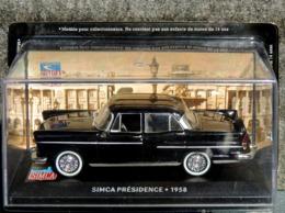 SIMCA Présidence 1958 - 1/43 - NEUF Sous Blister Et Boîte Plastique - Cars & 4-wheels
