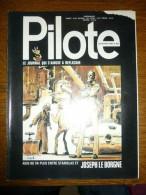 Pilote Le Journal Qui S'amuse à Réfléchir N°655 - Pilote