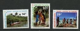 Polynésie Française - Polynesien - Polynesia 1995 Y&T N°480A à 480C - Michel N°(?) *** - Journée Du Tourisme - French Polynesia