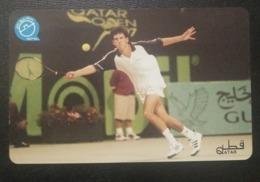 Qatar Telephone Card Tennis - Qatar
