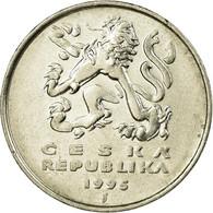 Monnaie, République Tchèque, 5 Korun, 1995, TTB, Nickel Plated Steel, KM:8 - Czech Republic